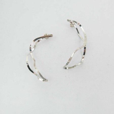 AOKO SU Posture Earrings - Sterling Silver