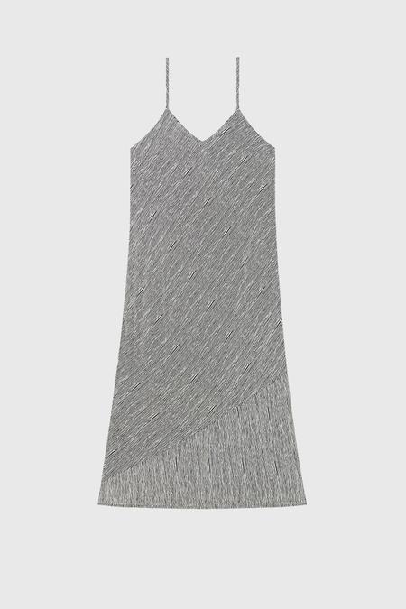 COMMONERS Panel Slip Dress - Stripe