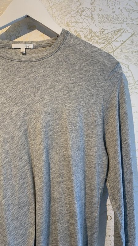 Skin Long Sleeve Crew Neck Tee