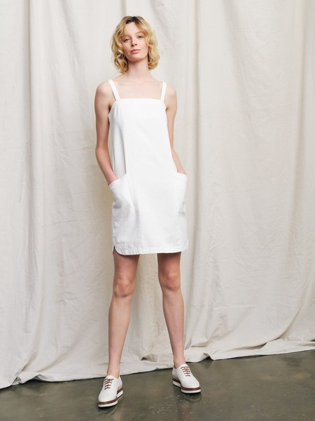 Ryder Amy Linen Dress - White