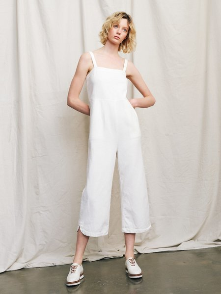 Ryder Amy Linen Jumpsuit - White