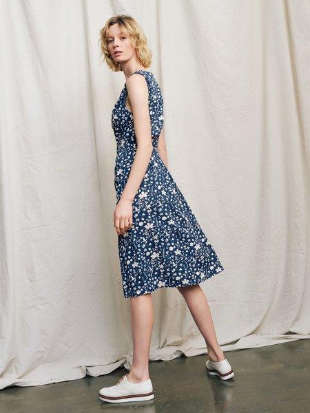 Ryder Julia Midi Dress - Forest Floor