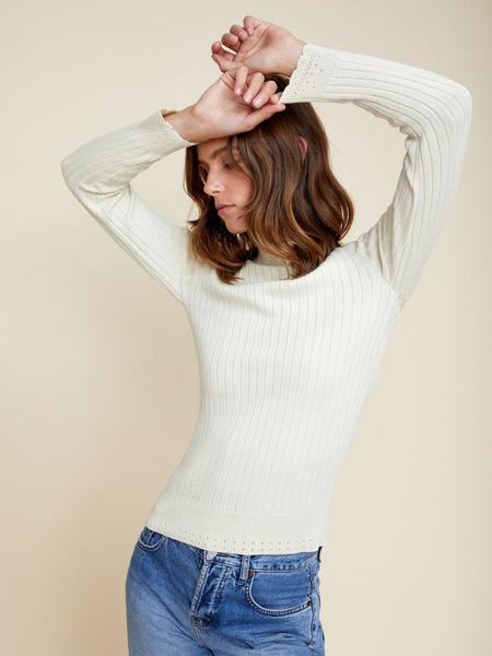 Ryder June Knit Top - Cream