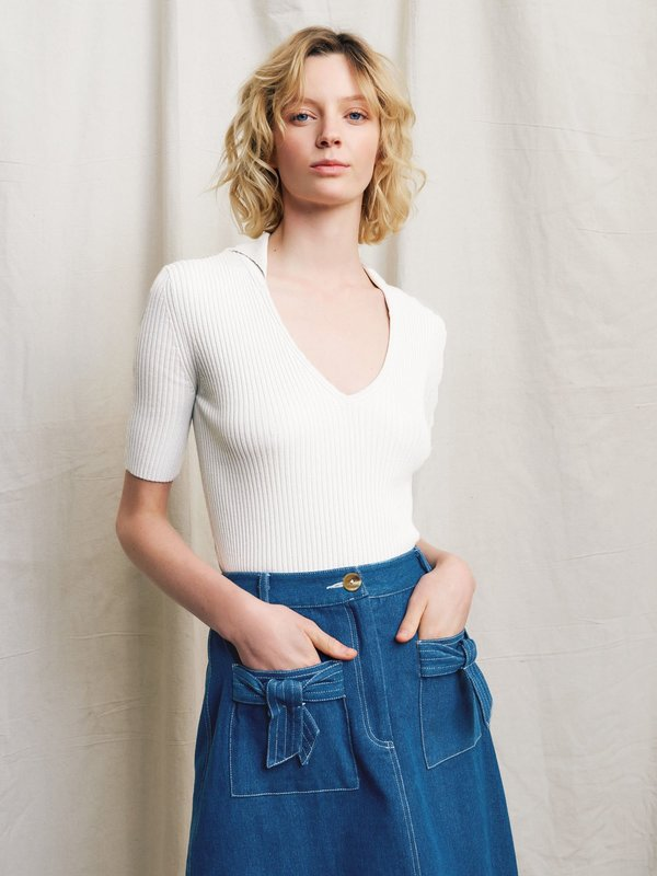 Ryder Luca Denim Skirt - Blue