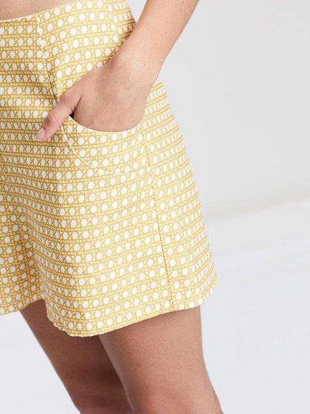 Ryder Luna Linen Shorts - Rattan