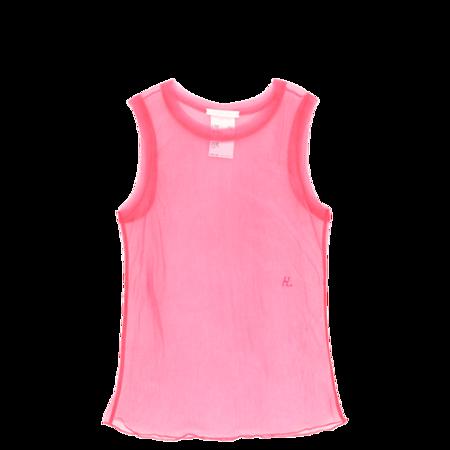 Helmut Lang Femme Shell Tank Top - Prism Pink