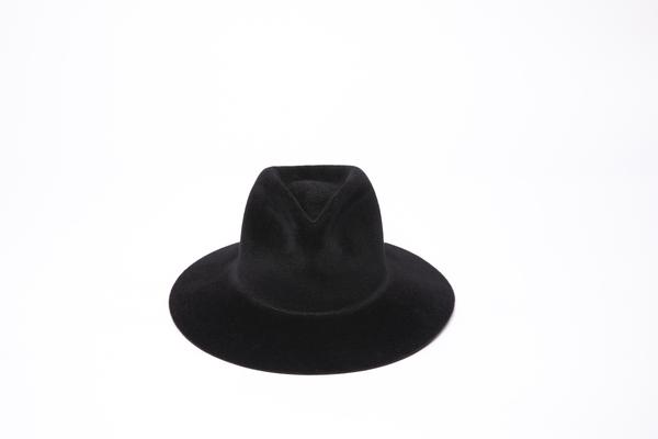 Clyde Short Brim Pinch Hat