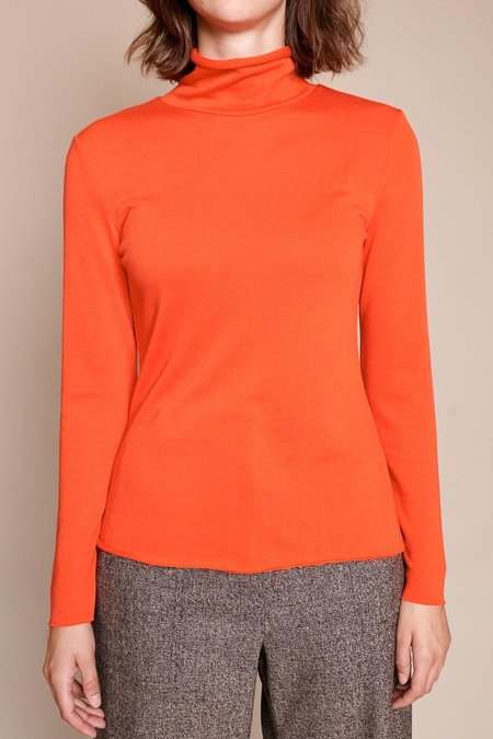 No.6 Gloria Turtleneck - Red/Orange