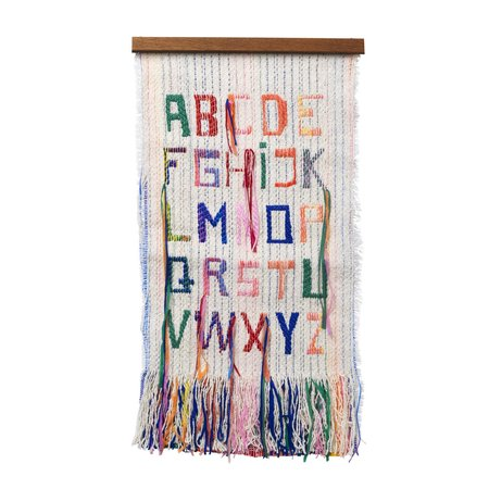 Kids Ferm Living ABC Wall Tapestry Decor