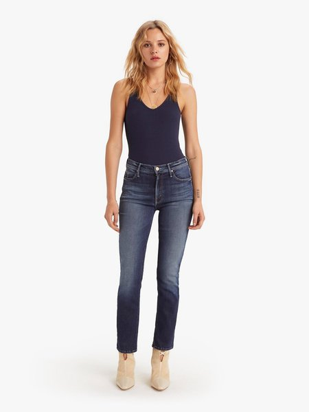 Mother Denim The Mid Rise Dazzler Ankle Jeans - On The Edge