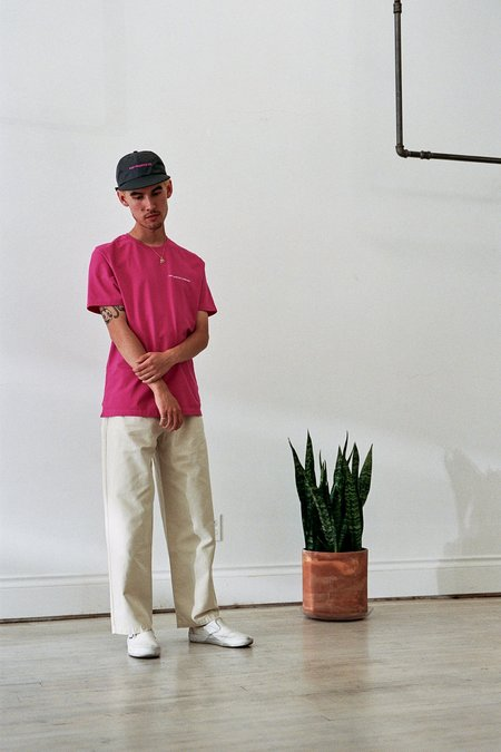 Pop Trading Company DRS Pants - Off White Canvas