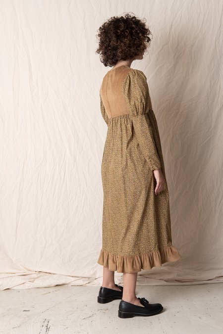 BATSHEVA HOLLY DRESS - Brown