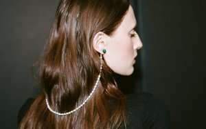 Kindred Black Malachite Cloak Earrings