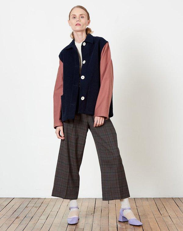 Caron callahan krasner jacket - navy/rose