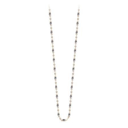 "Gigi Clozeau 16.5"" Classic Gigi Necklace - SILVER/YELLOW GOLD"