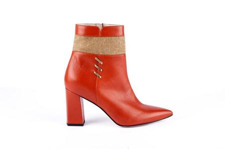 Jessica Bédard Olive Ankle Boot - Brick Brown