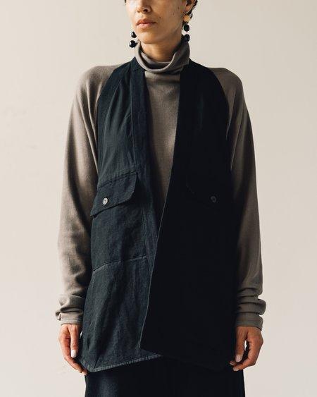 Jan-Jan Van Essche Bamboo Cloth Gilet - Black