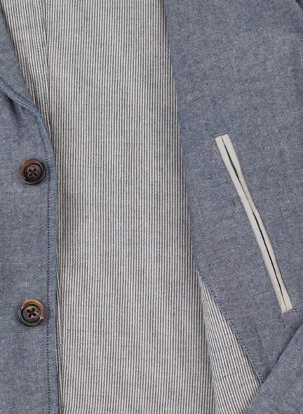 Men's Alex Mill Double Face Blazer Indigo