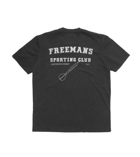 Freemans Sporting Club Printed T-Shirt - Bowery Black