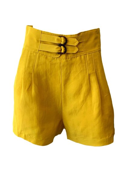 Joie Brenton Shorts - Sulphur