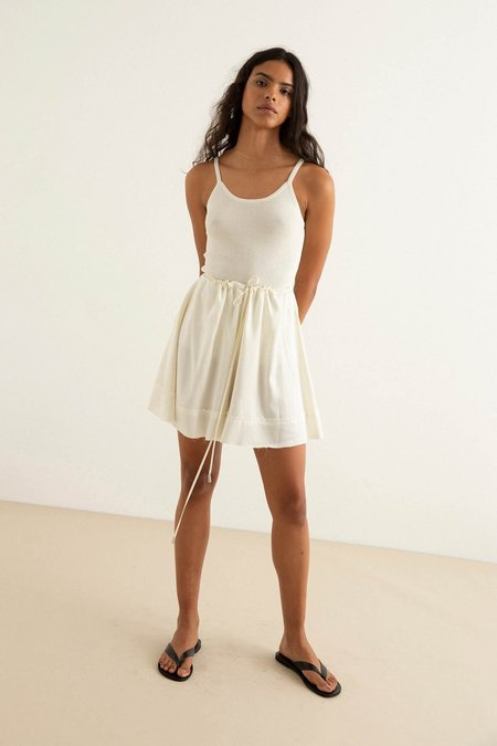 BEFORE MARCH Pepper Shorts - Ivory