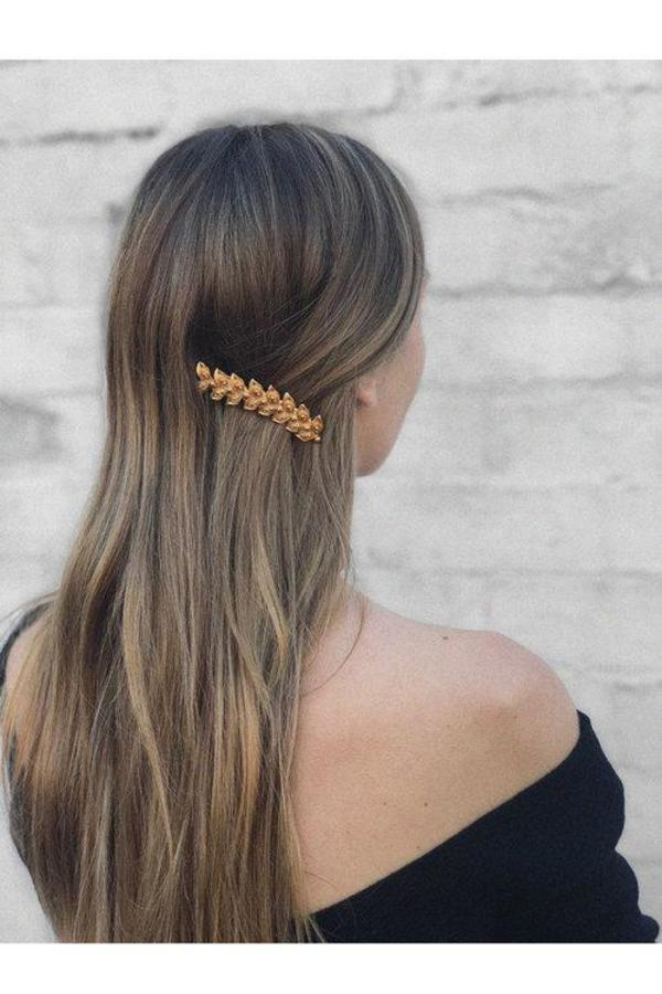 BEFORE MARCH Sona Hairclip - Gold