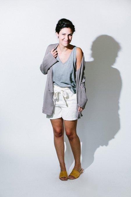 Oskar side of paradise shorts - off-white