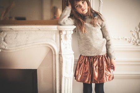 KIDS louis louise minette skirt - bronze
