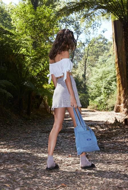 P&V Terry Miniskirt - gray