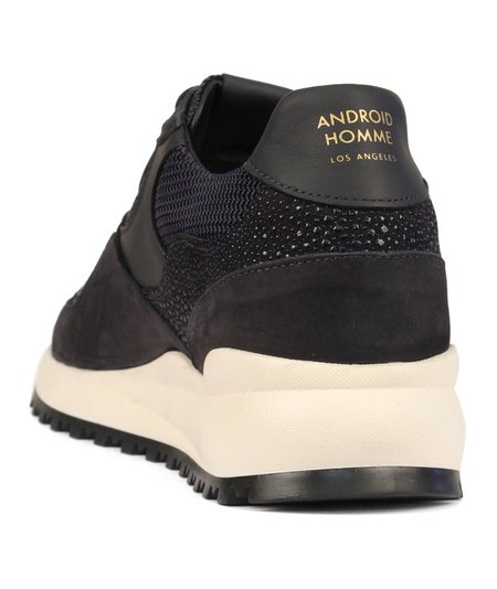 Android Homme Santa Monica Sneaker - Stingray Suede Navy