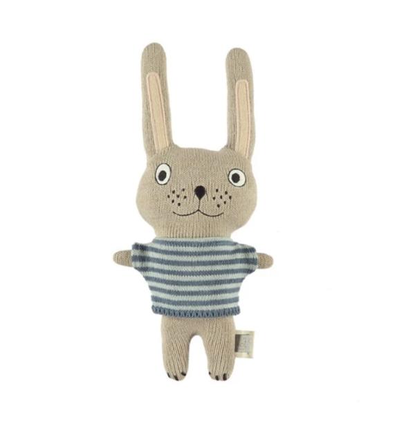 OYOY Darling Baby Felix Rabbit TOY - BLUE