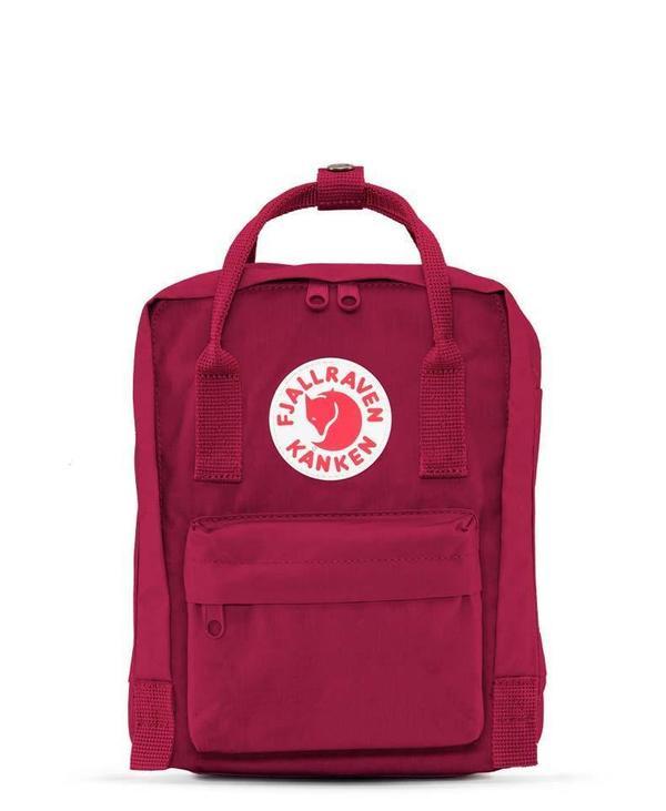 half off 6622d 6358b Kids Fjallraven Kanken Mini Bag - Plum on Garmentory