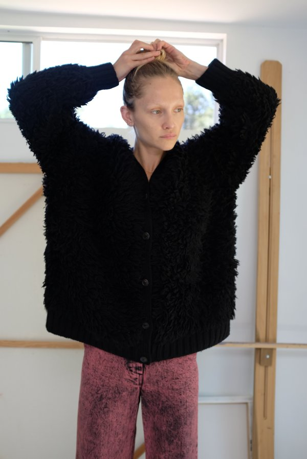 A Détacher Kornelja Cardigan - Black