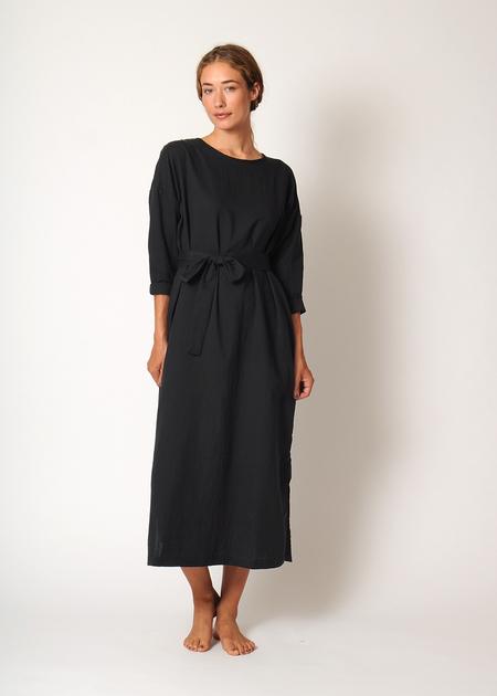 Conifer L/S Pullover Dress - Black