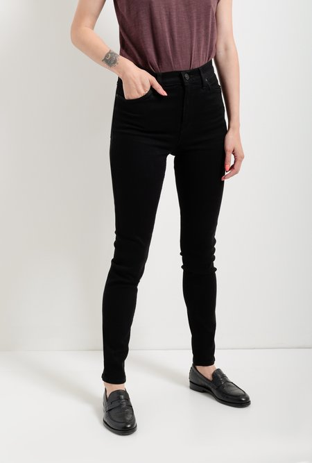 Hudson Jeans Barbara High Waist Super Skinny Jean - Black