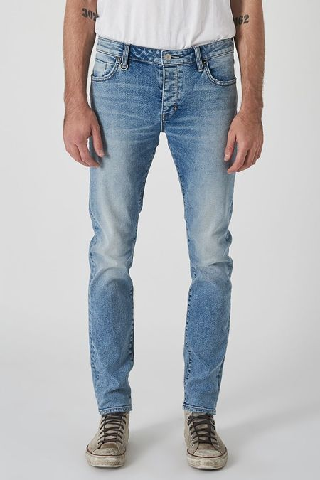 NEUW Iggy Skinny Jeans - Abstrakt Blue