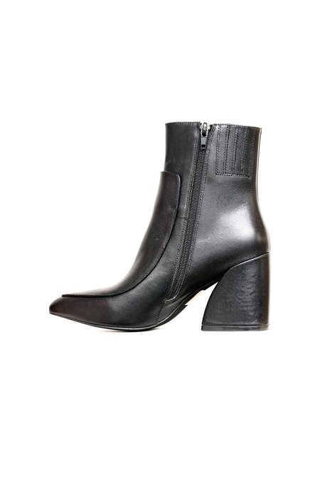 Jeffrey Campbell Bentlee Calf Leather Boot - Black