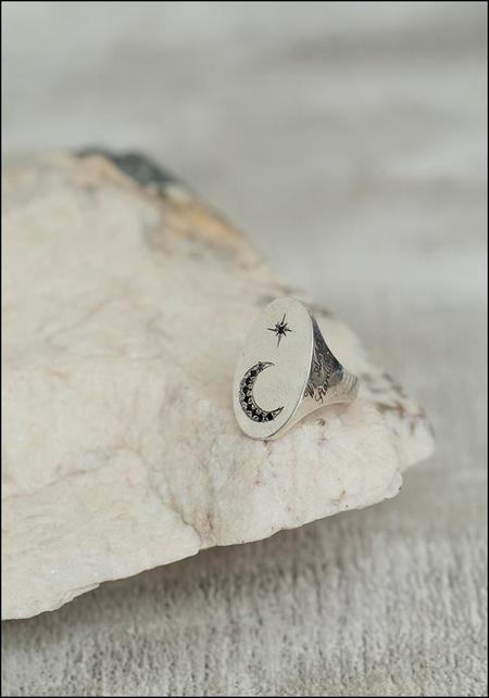 Avocet Nova Signet Ring - Silver