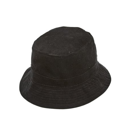 Corridor Cord Bucket Hat - Black