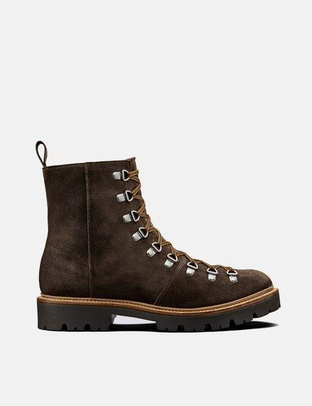 Grenson Suede Brady Ski Boot - Peat Brown