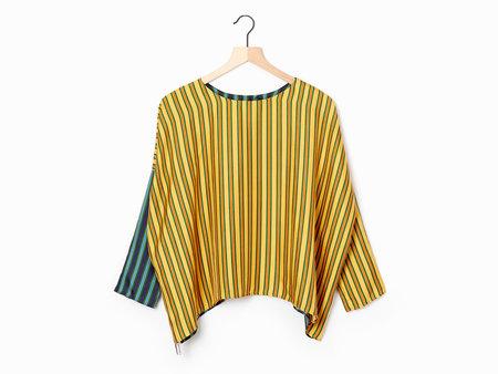 La Prestic Ouiston Janine Blouse - Yellow/Green