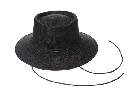 Clyde Telescope Hat w. Drawstring - Black