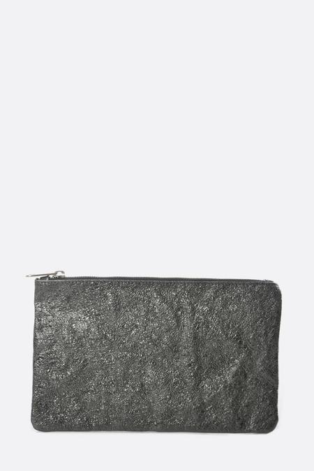 Zilla Metallic Big Pouch - Grey
