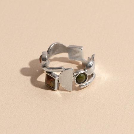 Lindsay Lewis Shapes Ring - Sterling Silver