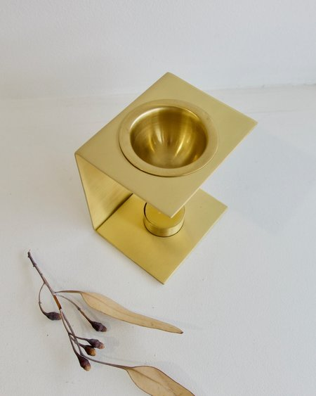 Addition Studio Essential Oil Burner - Brass