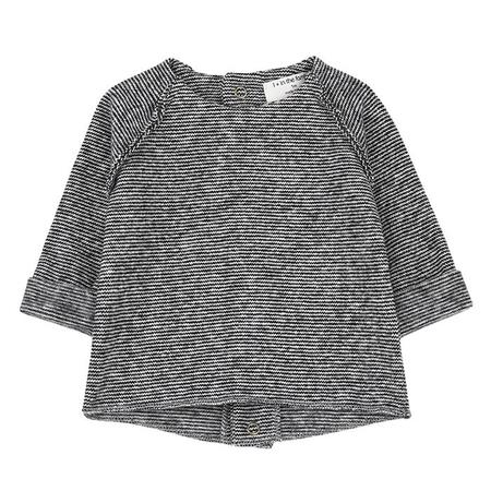 Kids 1+ In The Family Mantua Sweater - Black/White Stripes