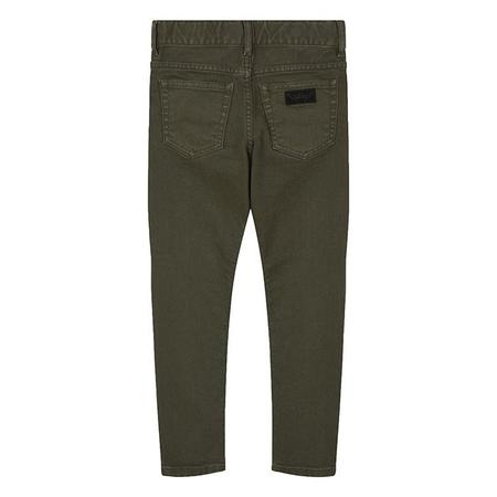 KIDS Finger In The Nose New Norton Straight Fit Jeans - Khaki Green