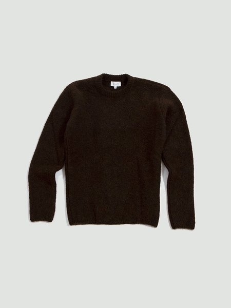 Lemaire Hairy Sweater - dark earth