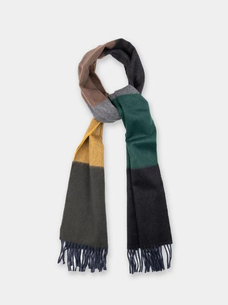 Norse Projects x Begg & Co Scarf - Black Multi