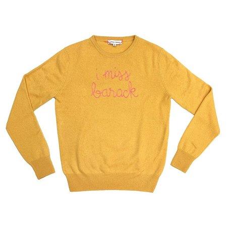 Lingua Franca I Miss Barack Sweater